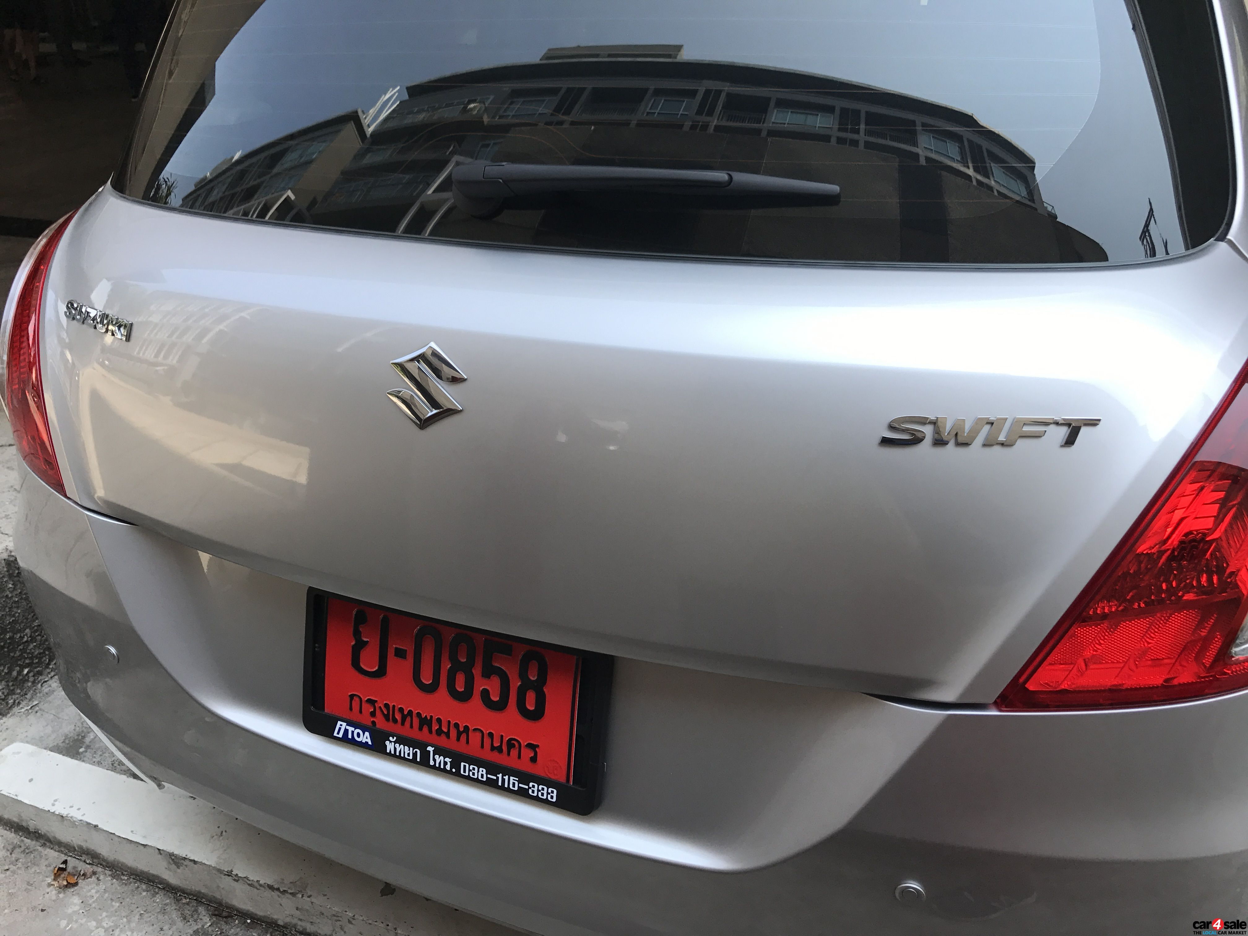 SUZUKI TOYOTA Swift Swift Eco Car 1.25 GA CVT
